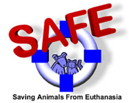 Saving Animals from Euthansia: a non-profit organization committed to developing a comprehensive, community-based resolution to the euthanasia of adoptable companion animals.